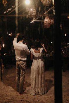 Inside Kate Brien and David Kitz's beautiful beach wedding in Tulum, Mexico