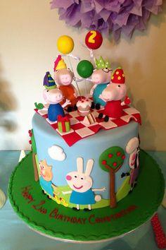 Peppa Pig cake - amazing