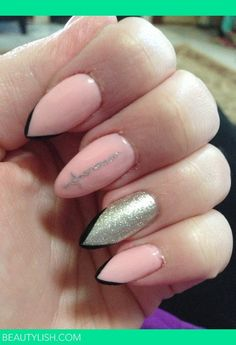 These Days Its All About Stiletto Nails   See more nail designs at http://www.nailsss.com/french-nails/2/