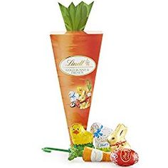Lindt Swiss Chocolate Easter Carrot Box. #Easter #eastercandy #chocolate
