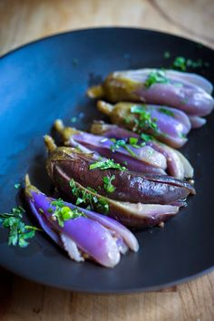 Feasting at Home: Moroccan Pickled Eggplant