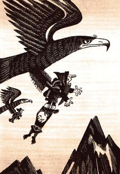 Vintage Illustrations for Tolkien's The Hobbit from Around the World