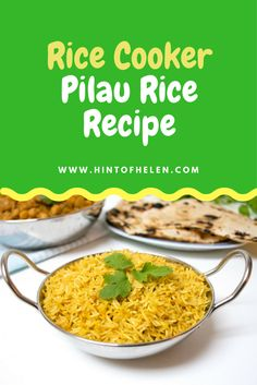 The perfect recipe for pilau rice made with a rice cooker. A mildly spiced rice which is the perfect side to our favourite curries.