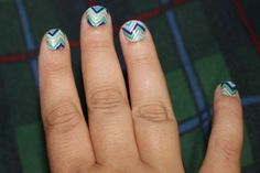 Check out my mani can you believe I did this myself so easy want to know how ask me.