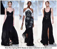 Nina Ricci Spring 2015 Ready to Wear #Fashion Collection #DressForSuccess