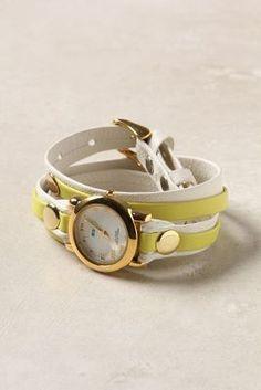 Artisan Two-Tone Wrap  Watch