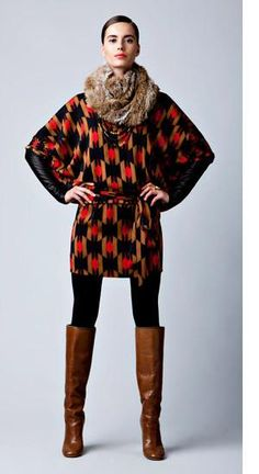 Cute fall/autumn/winter outfit (but would swap the fur scarf for something more simple) LOVE the boots!