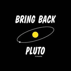 Bring Back Pluto Science Space T-shirt