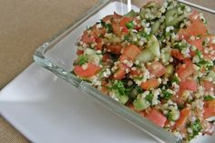 El tabule es una ensalada tradicional árabe que te dejará completamente enamorad@. | 18 Deliciosas ensaladas para empezar a cumplir tus propósitos