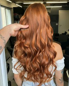 Projeto Along Hair – Recupere em 30 dias Light Auburn Hair Color, Ginger Hair Color, Love Hair, Hair Looks, Hair Trends, Dyed Hair, Hair Inspiration, Evolution, Curly Hair Styles