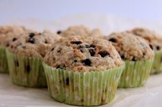 Gluten-Free Chocolate Chip Muffins by The Healthy Maven