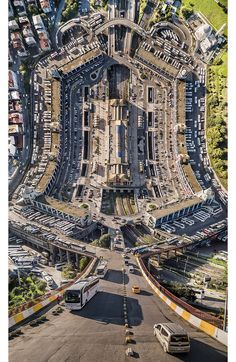 Dear Inception fans, Flatland is not a sequel, but it's still quite fascinating. The digital series of Turkish artist Aydın Büyüktaş distorts the streets of Istanbul into a surreal cityscape to challenge viewer's perspective.