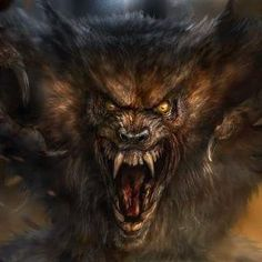 Werewolf Art by Chris Scalf