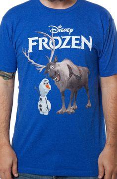 Olaf & Sven Frozen Shirt: Movies Disney, Frozen T-shirt