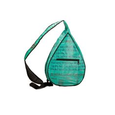 I pinned this Sling Bag in Aquamarine from the Torrain event at Joss and Main! Feed Bags, Sling Backpack, Shoulder Strap, Teal, Backpacks, Wallet, Shopping, Women's Backpack, Handmade Purses