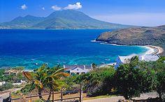 Volcano in St Kitts