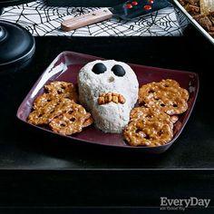 Cheese-Spread Skull