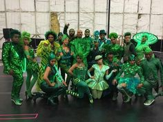 The Emerald City dancers The Wiz live 2015