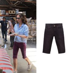With good weather we can squeeze the day: And with these J BRAND´s bike shorts you will fully enjoy these super intensive days! Shop online: http://www.farfetch.com/es/shopping/women/designer-j-brand-knee-length-denim-bike-shorts-item-10629112.aspx?storeid=9386&ffref=lp_3_