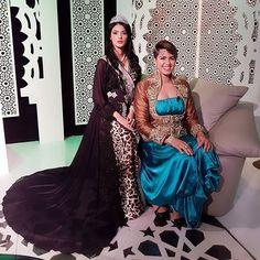 Avec Miss arabe #chanez