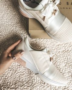 ♥♥♥♥♥♥♥♥♥♥♥♥♥♥♥♥ So much Sneaker Love!! Adoreable Sneakers from Ted baker!!  ♥♥♥♥♥♥♥♥♥♥♥♥♥♥♥♥ #tedbaker #sneaker #shoes