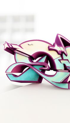 Graffiti Sculpture, Does, DOES, Urban Culture Art Collection, 3D printed, Designer Toy
