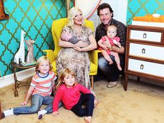 Inside Tori Spelling's nursery for baby Finn! #nursery