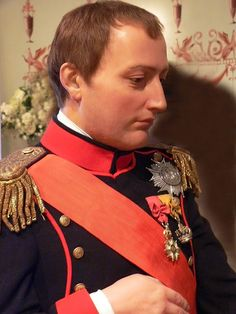 Napoleon at Madame Tussauds in London closeup Empress Josephine, Napoleon Josephine, Wax Museum, Neil Armstrong, Madame Tussauds, British Soldier, French Revolution, Napoleonic Wars, Famous Celebrities