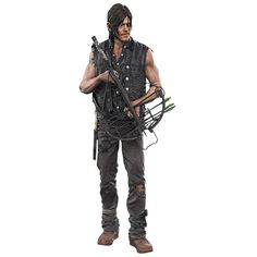 "Action figure ""Daryl Dixon With Crossbow"" di #TheWalkingDead."