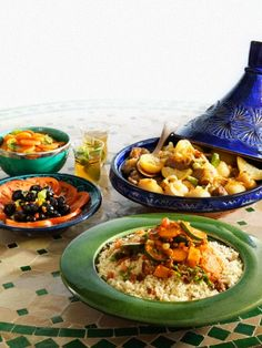 Moroccan Mezzes :D
