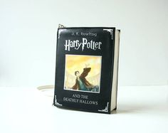 Harry Potter Faux Leather Book Bag The Deathly Hallows Book Purse