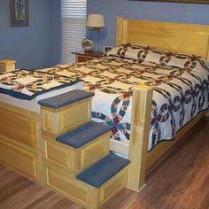 Headboard/Pet Bed by Pam Davis
