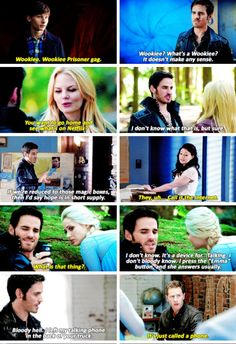 Colin O'Donoghue - Killian Jones -Captain Hook - Jennifer Morrison - Emma Swan - Once Upon A Time