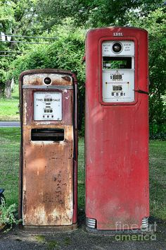 Vintage Gas Station Photos for Sale