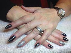 Nails with Glitter Spray by Mariska Ham! Glitter Nails, Nail Art, Ham, Beauty, Glittery Nails, Hams, Nail Arts, Bling Nails