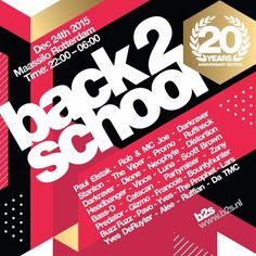 Listen #free in #SoundCloud now: Yves Deruyter & Bountyhunter @ back2school 2015 by officialb2s
