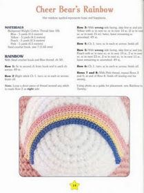Sorry guys..8 free crochet patterns for different Care Bears.  Having trouble posting the site..