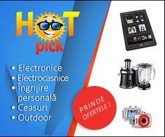 HotPick este un site nou, in plina crestere, care propune o gama variata de produse de calitate, grupate pe categorii clare, astfel incat sa poti gasi imediat ceea ce te intereseaza! La cumparaturile prin MyCashBack.ro aveti 4% bani inapoi!