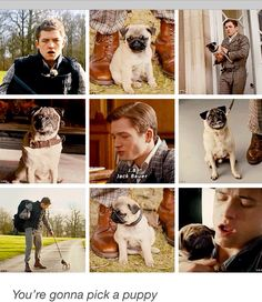 #PuppyLove I ship JB + Eggsy so much