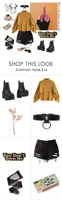 """taurus aesthetic"" by uukiyou ❤ liked on Polyvore featuring Windsor Smith, Carven and Yvng Pearl"