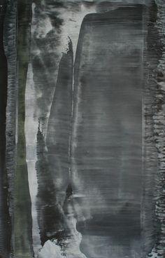 Koen Lybaert; Oil, 2012, Painting abstract N° 412