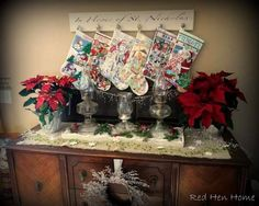 Stocking holder for those of us without a mantel