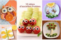 15 idées d'art fruité pour colorer les assiettes de vos enfants