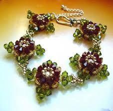 Resultado de imagen para cristal beaded bracelets
