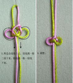 逆向蝶形小结 - mifor - 兰亭结艺 3