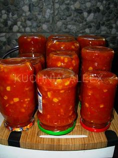 Salsa, Food And Drink, Jar, Treats, Healthy, Polish, Sweet Like Candy, Goodies, Vitreous Enamel