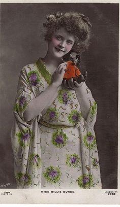 Billie Burke as Geisha with Doll 2 by Vintage Lulu, via Flickr