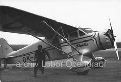 1935 Bata Plane - Stinson Baťa