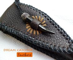 Knife Case - Crafts by Sheraline Menezes in Leatherwork at touchtalent