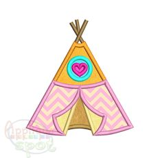 Teepee   Sizes Included  x   x   x   Applique